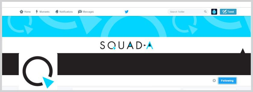 Squad-A Twitter page