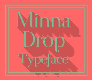 minna drop font