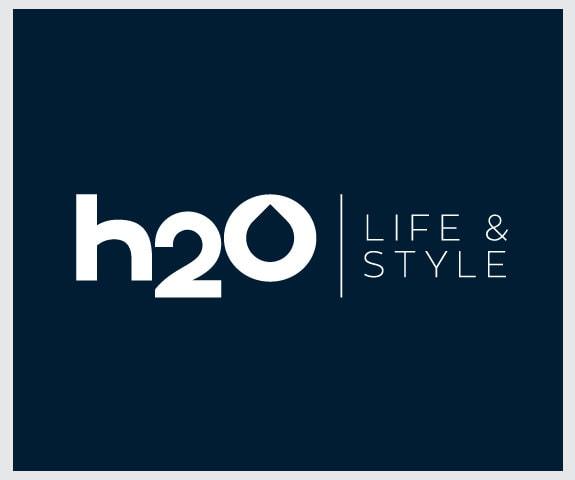 h20 logo design