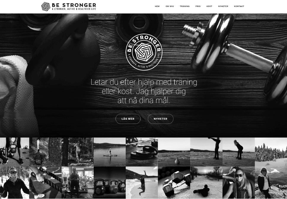 Affordable fitness website