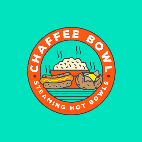 cheap rice bowl logo design